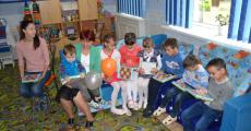 Посещение приюта для детей