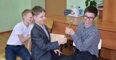 Занятие с воспитанниками школы-интерната